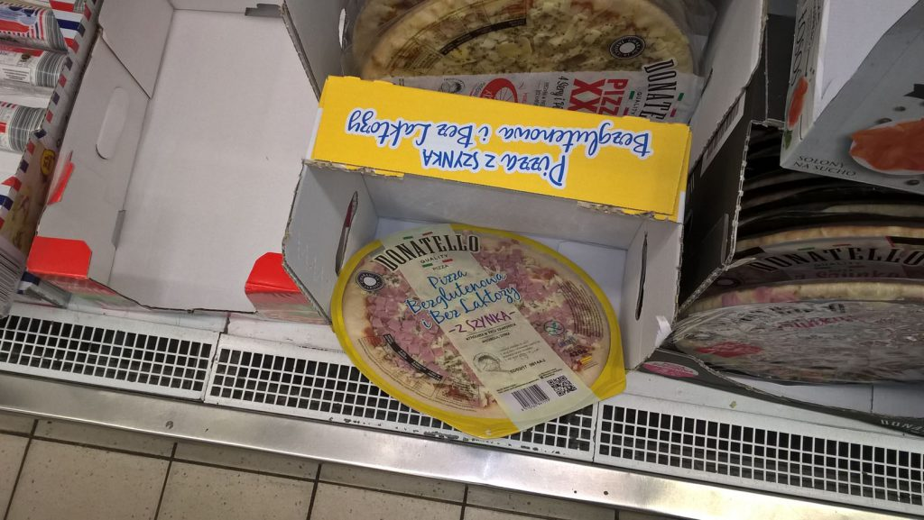 Bezglutenowa pizza z biedry